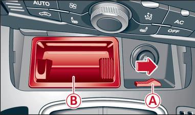Аварийная разблокировка Audi A5