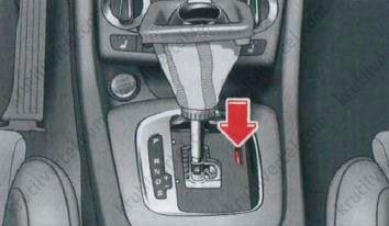 Аварийная разблокировка АКПП Audi Q3