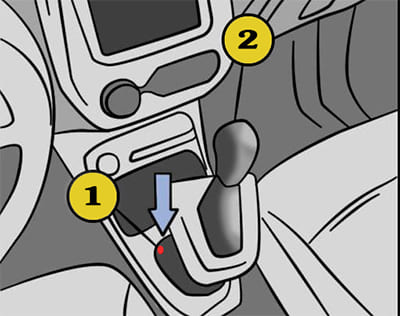 разблокировка АКПП Renault Sandero
