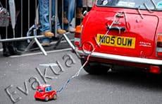 Буксировка автомобиля
