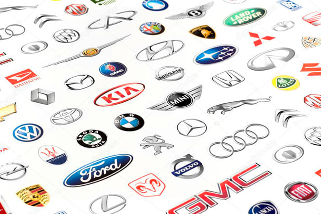 логотипы автомобилей
